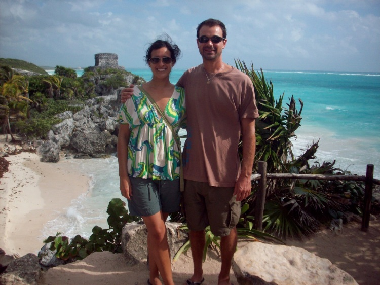 The obligatory Tulum pic