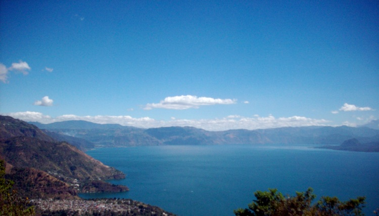 The beautiful Lago Atitlan