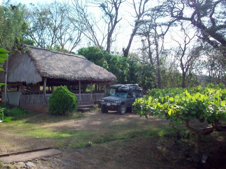 Camp at Finca Magdalena