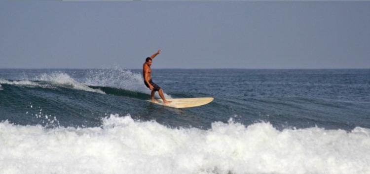 Jamie surfing 1