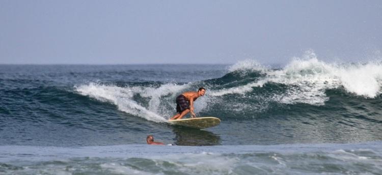 Jamie surfing 2